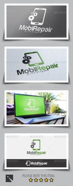 Mobile Home Logo Template by Qubeit Features: 02 Versions Files included: AI and EPS 100 Resizable Title and subtitle texts are editable Color is easily cha Logo Design Template, Logo Templates, Mobile Logo, Mobile App, Building Logo, Architecture Logo, Ppr, Symbol Logo, Kids Logo