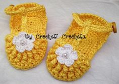 White sandals and yellow sun flower