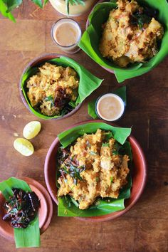 Kappa Biriyani Recipe - mashed tapioca with coconut mixed with chicken curry. Comfort food from Kerala | Indu Gets Cooking