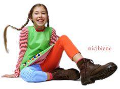 Pippi Langstrumpf Kostüm - natürlich selbstgenäht ;-)