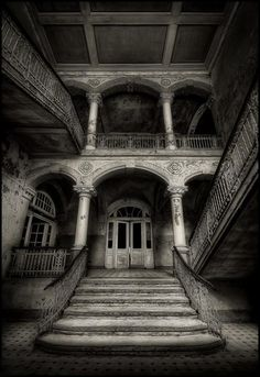 PROGRESSIVE STORY:  Each night, as the moonlight streams like quicksilver through the shattered windows, the ethereal beauty materializes, floating down the stairs in search of her lost love...  ( Add a line and keep the story going)   ~Leah Marie Brown