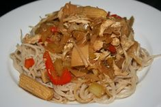 A Year of Slow Cooking: CrockPot Chow Mein Recipe