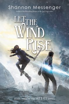 The cover for LET THE WIND RISE (book #3 in the Sky Fall series)