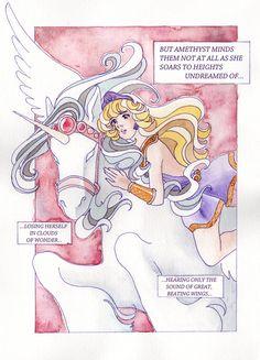 Amethyst, Princess of Gemworld by KoriMichele