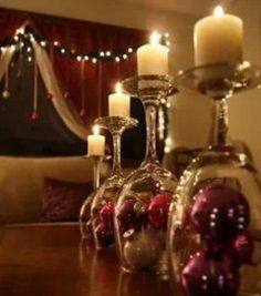 Easy way to make candle holders