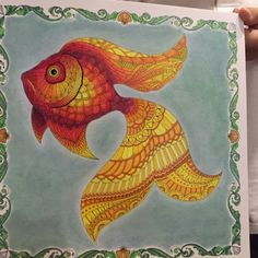 Johanna Basford | Picture by Claire | Colouring Gallery