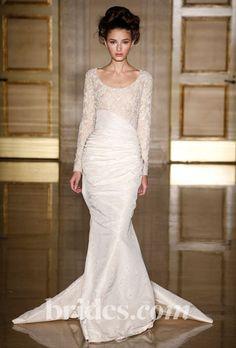 douglas hannant long sleeved wedding dress fall 2013