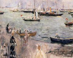 The Isle of Wight - Berthe Morisot, 1875