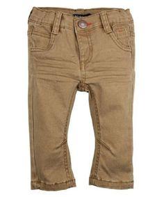 Gekleurde Jeans Dirkje #jeans #stoer #dirkje #broek #camel #kids