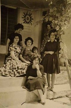 Women from the people of Baghdad in 1960.