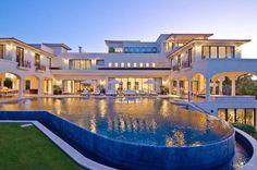 Style At Home, Dream Home Design, Modern House Design, Dream Mansion, Luxury Villa Rentals, Luxury Homes Dream Houses, Dream Homes, Modern Mansion, Modern Houses