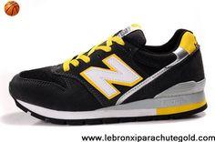 New New Balance NB CM996BL Black Yellow Grey White Shoes