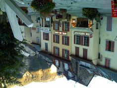 Hotel des Alpes, Bourg d'Oisans, at the foot of Alpe d'Huez.
