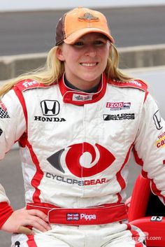 Pippa Mann, Dale Coyne Racing, 1 of 4 women racing in 2013 Indy 500, starts in row 10: