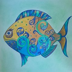 #Johanna Basford #Lost Ocean#coloringbook