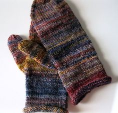 Mittens - handspun wool, womens mittens, Merino - Lambs Ears