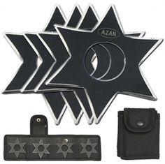 Dark Ninja Throwing Star Set For Sale | All Ninja Gear: Largest Selection of Ninja Weapons | Throwing Stars | Nunchucks
