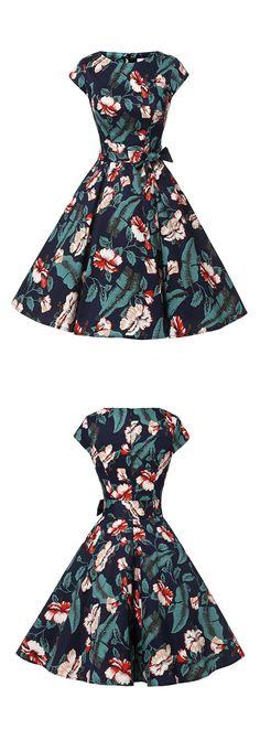 50s dresses,fashion vintage style dresses,rockabilly dresses,floral print dresses,retro dresses