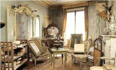 Inspiration for A Paris Apartment...Revealed: Eerie new images show forgotten French apartment that was abandoned at the outbreak of World War II and left untouched for 70 years