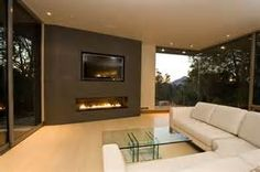 Gas Fireplaces with TV Over Top - Bing images
