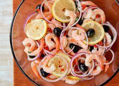 Marinated Shrimp by Valarie B - Key Ingredient Shrimp Appetizers, Shrimp Recipes, Fish Recipes, Appetizer Recipes, Party Appetizers, Recipies, Marinated Shrimp, Shrimp Salad, Fish Dishes
