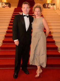 """""""Jedermann"""" Cornelius Obonya - er war nominiert als """"Beliebtester Schauspieler"""" - mit Ehefrau Carolin Pienkos. Sie trug eine Kreation der Kölnerin Gesine Moritz. #Romy14"""