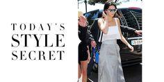 Today's Style Secret  - HarpersBAZAAR.com