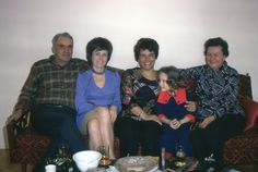 pic 35.  A group picture.  Sorry I don't recognize anyone here but Hannelies.  1971 Her Age: 43