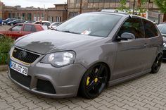 VW Polo 9n3 GTI Cup Edition on airbags Volkswagen Polo, Car Tuning, First Car, Station Wagon, Cars And Motorcycles, Automobile, Bmw, Marcel, Vehicles