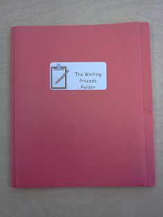 Writing Process Folders (and other tips for producing great writers)