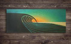Image result for wave art hawaii artist
