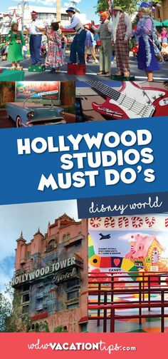 It may seem like Hollywood Studios is a shell of its former self nowadays with all the construction but there are some really fun things to do here still. If you wanted to you could spend a whole day here doing the rides and the shows. So here are my Disney Hollywood Studios Must Dos.