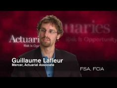 Opportunities for an actuary