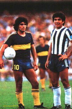 Diego vs Rubén Galván, Boca vs Talleres, 1981.