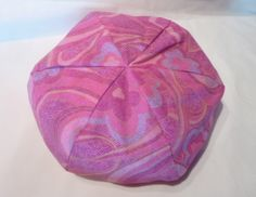 American Girl Doll Bean Bag Chair - Pink and Purple Flower Swirl  - 18 inch, Pink, Purple, Swirl, Floral,   Etsy Kids, Gift under 15