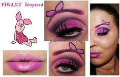 Piglet inspired makeup http://www.makeupbee.com/look.php?look_id=66463