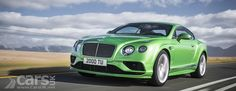 The Bentley Continental GT and Flying Spur range get cosmetic tweaks and cabin upgrades for 2015, with the W12 getting even more power. Debuts Geneva 2015. http://www.carsuk.net/2015-bentley-continental-gt-flying-spur-facelift-cosmetic-tweaks-power-w12/
