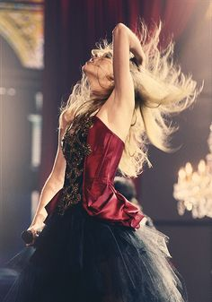 Taylor Swift she is so awesome, i mean just look at her