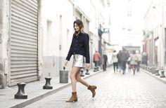 lolita jacobs mini skirt street style garance dore photos