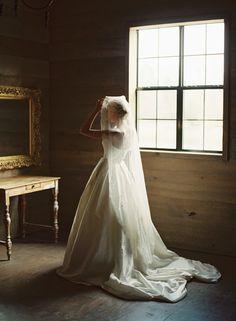 wedding dress with train | Cassidy Carson