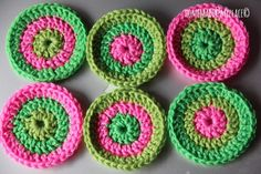 homemade@myplace: Colourful Discs as mood therapy !!!!