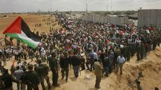 Egypt opens its Rafah border crossing with blockaded Gaza Strip for the first time in two months.