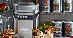 Whip up ice cream (and gelato, and froyo) from scratch with this ultra efficient ice cream maker.  | The Goods