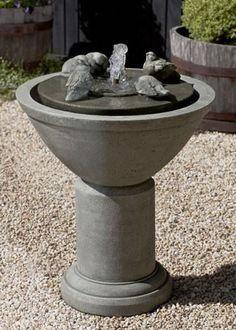 Campania International Passaros II Fountain