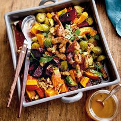 Gerösteter Herbstsalat mit Schnitzelstreifen | Recipes | Weight Watchers