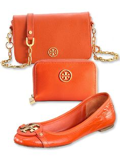 Here's a way to wear #tangerine—the color of the year—and give back: Through the end of April, #ToryBurch is donating 20% of the proceeds from four exclusive items to the Michael J. Fox Foundation. http://news.instyle.com/2012/04/17/tory-burch-michael-j-fox-foundation/