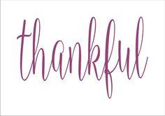thankful  STENCIL Font 2 design 6 sizes Create by SuperiorStencils