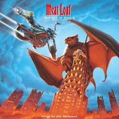 Meatloaf Bat Out Of Hell Wallpaper