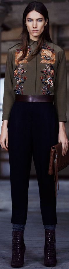 Fall 2015 Ready-to-Wear All Saints - nice outfit for work