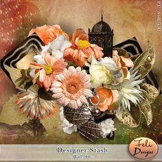 Digital Art :: Element Packs :: Designer Stash Vol. 30 (CU) by Feli Designs